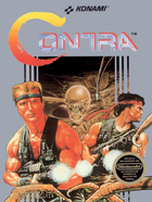 Cover for Contra