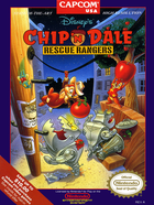 Cover for Chip 'n Dale - Rescue Rangers