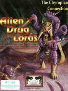 Cover for Alien Drug Lords: The Chyropian Connection