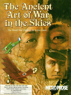 Cover for The Ancient Art of War in the Skies