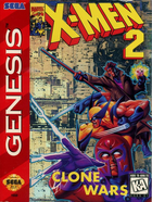 Cover for X-Men 2 - Clone Wars