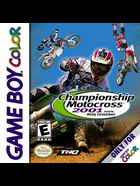Cover for Championship Motocross 2001 featuring Ricky Carmichael