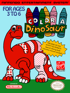Cover for Color a Dinosaur