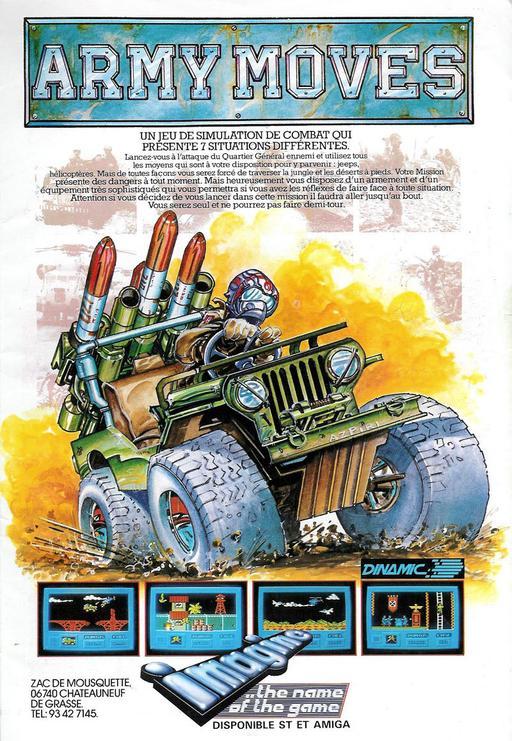 Army Moves (Amiga) - OpenRetro Game Database
