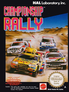 Cover for Championship Rally