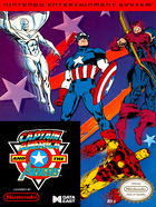 Cover for Captain America and the Avengers